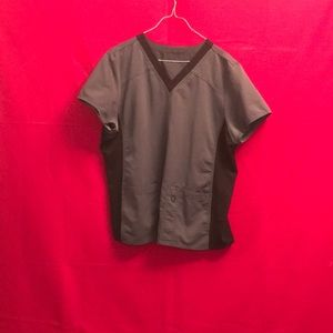 Other - Gray and black scrub top